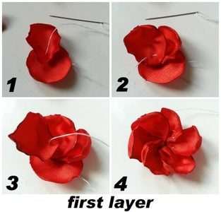 Making the Flower
