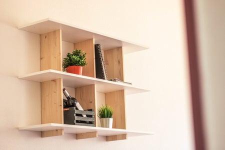 // 3D PUZZLE FURNITURE // Wall Shelf