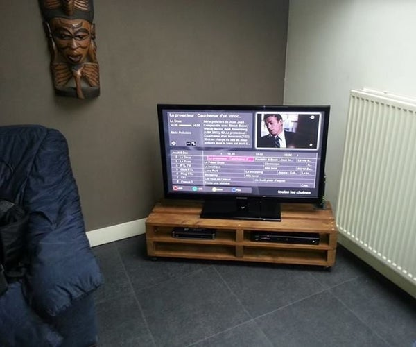 TV Stand from a Pallet.