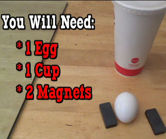DIY- Two Magnets and an Egg Prank