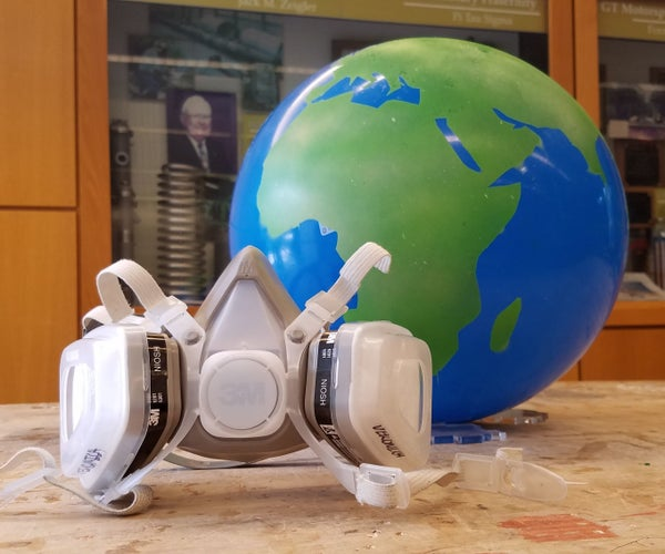 Masking & Painting Globes on Spheres of Any Size.