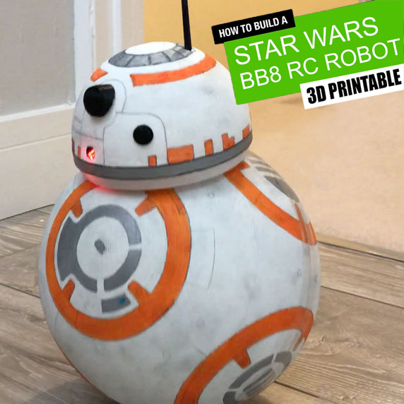 Picture of BB8 Droid - Arduino | Remote Controlled | 3D Printed