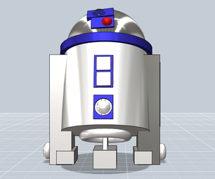 "R2D2 From the ""Star Wars"" Movies"