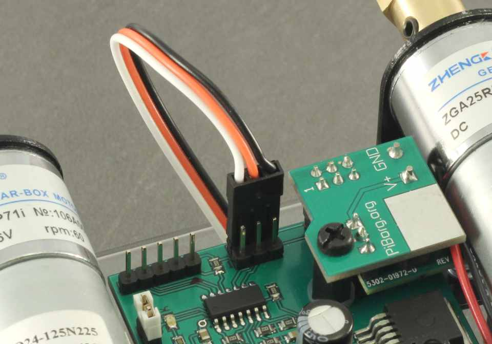Picture of Connecting the First Cable From the Raspberry Pi to the PicoBorg Reverse