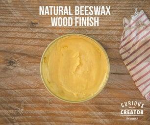 Natural Beeswax Wood Finish
