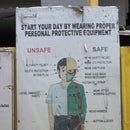 Safety on Work Sites in odd/ 3rd world/ war zone locations