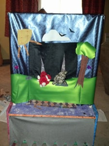 Recycled Beanie Babies  Puppet Theater