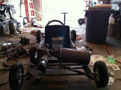 Jet Engine Powered Go-Kart