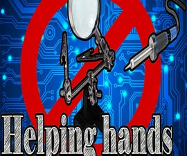 How to Make Helping Hands for Soldering Cheap