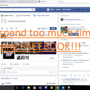 How to restrict yourself from using facebook?