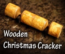 Wooden Christmas Cracker