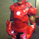 Cheap Iron Man (Mark 3) Costume with working faceplate, lights, electronics