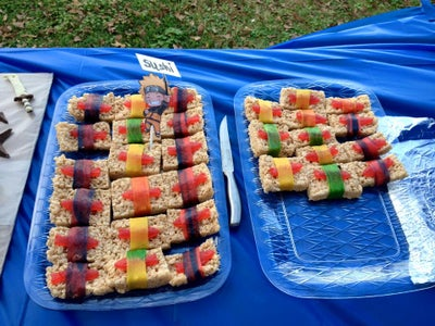 Party Snacks and Cake