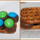 Pretzel chocolate cookies- a very simple delight