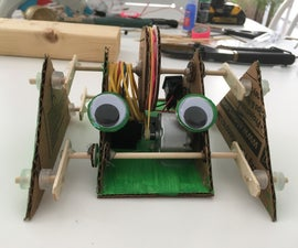 How to Make a Cardboard Frog Robot
