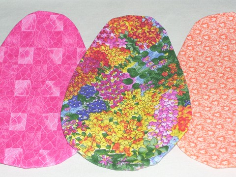 Picture of Round Shapes for Applique the Easy Way
