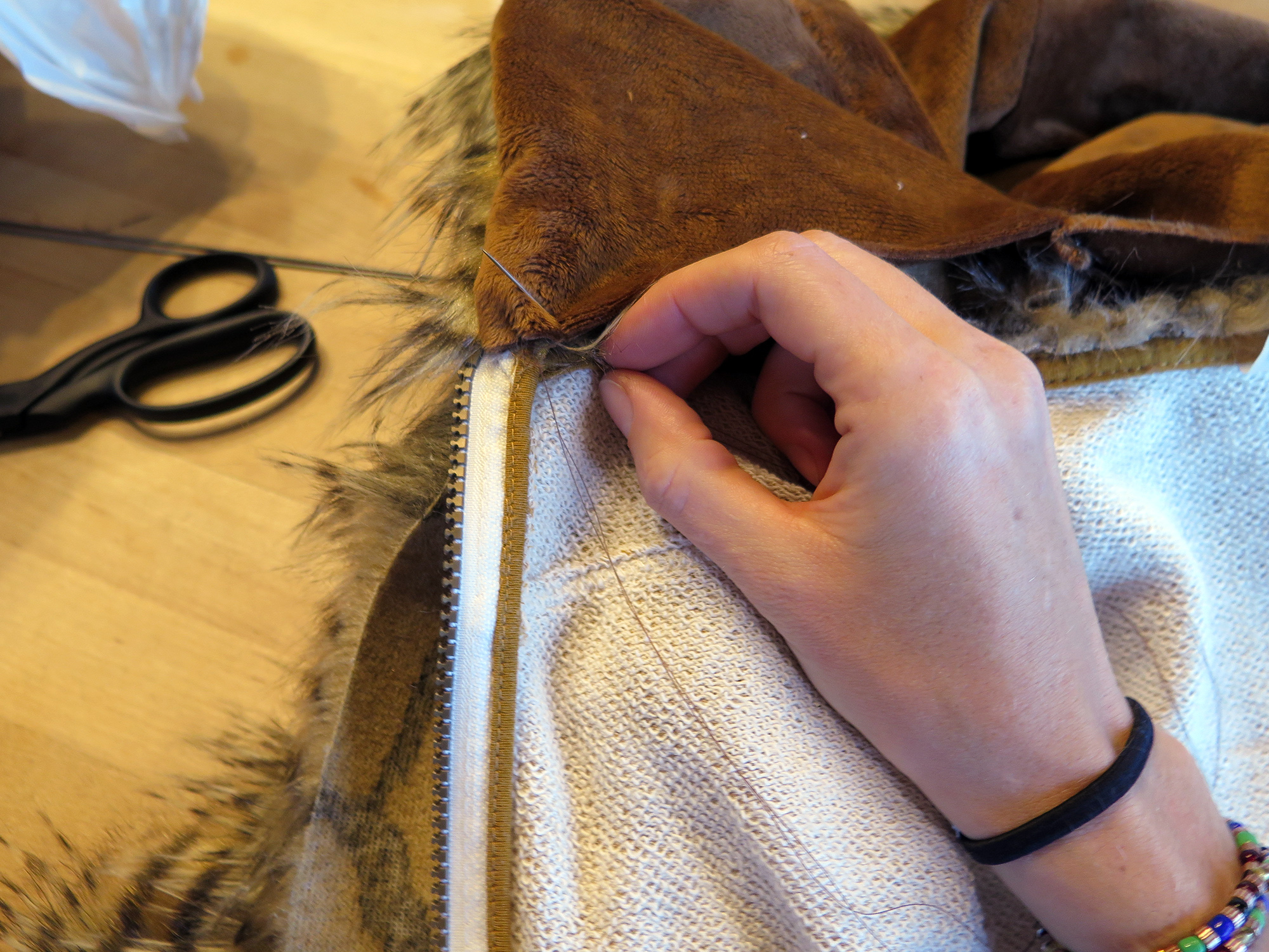 Picture of Hand Sewing