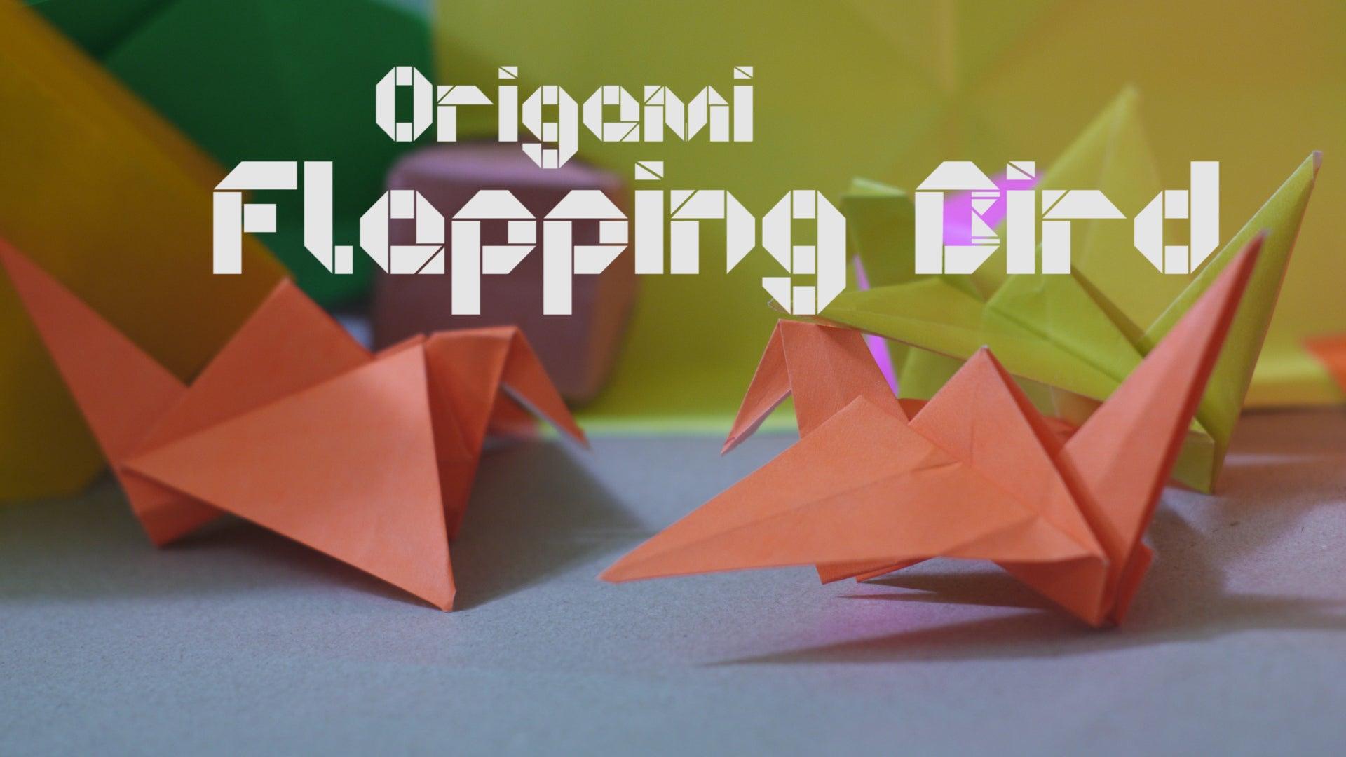 Origami Flapping Bird Photo Tutorial - Paper Kawaii | 1080x1920