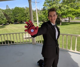 Easy 3D Printed Iron Man Glove