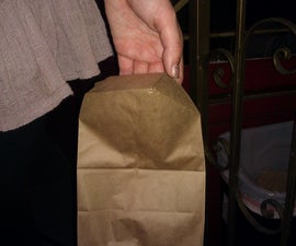 Practical Origami: instant handles for paper bags