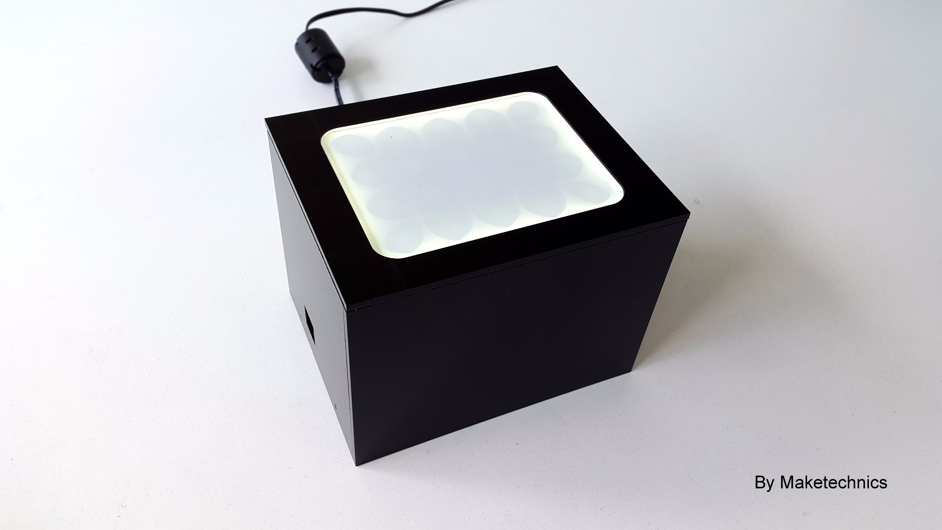 Picture of Boogie Box Out of Black Acrylic