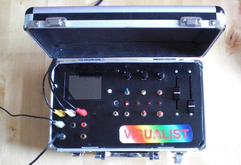 Picture of Visualist, 80's Analog Video Effects Controller