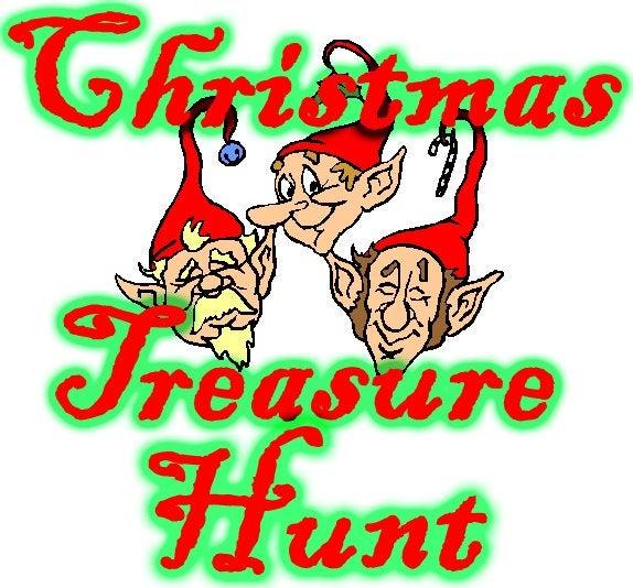 Christmas Gift Scavenger Hunt Riddles: Christmas Treasure Hunt: 4 Steps