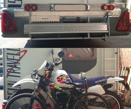 Motorbike + Bicycle + Generator Carrier, Retractable!
