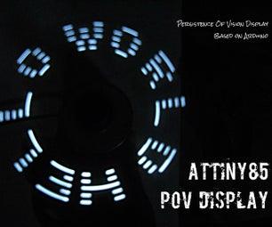 ATtiny85 POV Display