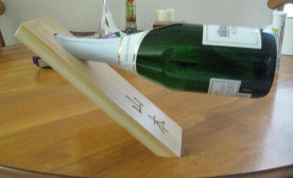Custom Illusion Wine Holder Gift