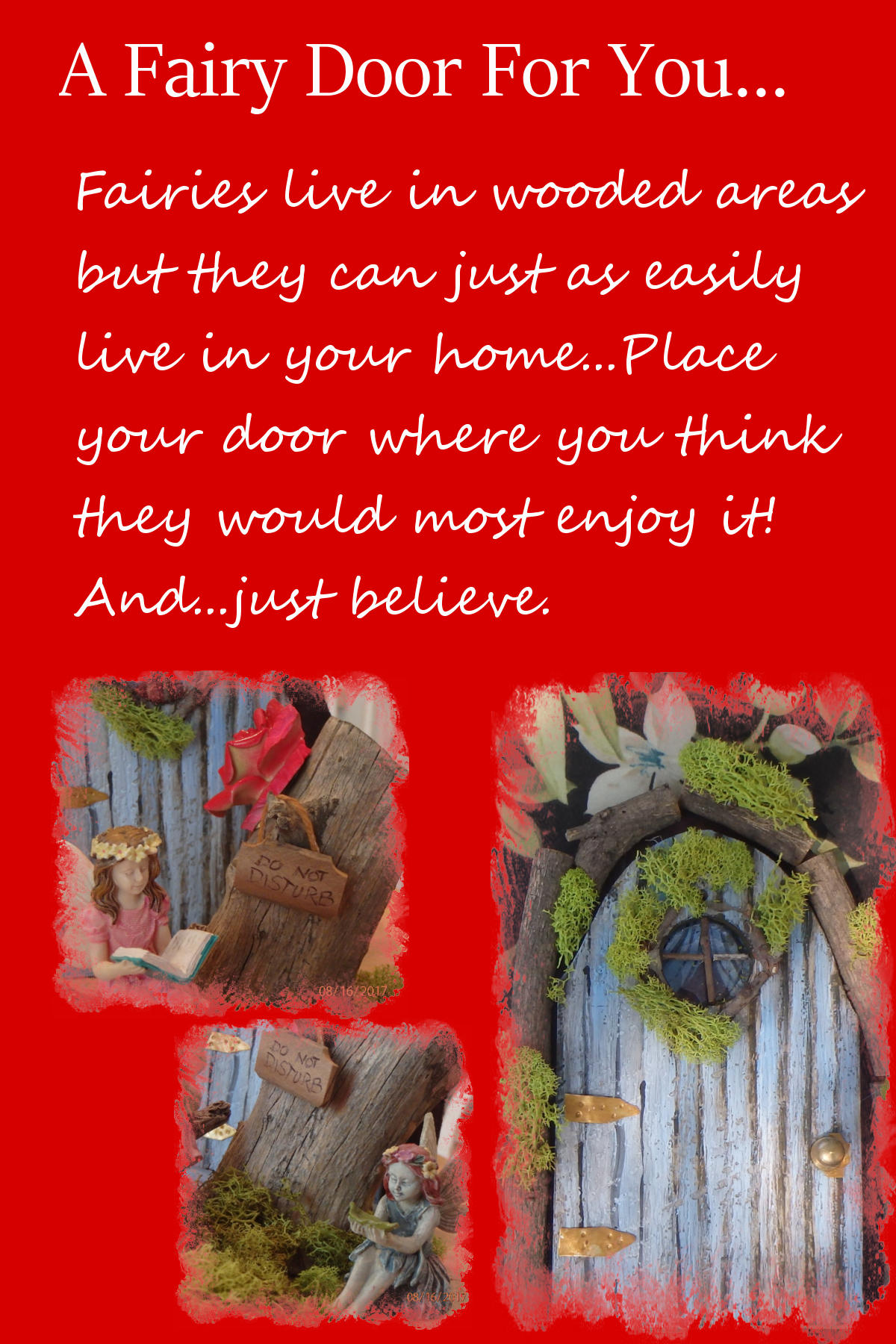 Picture of How to Make Fairy Doors/Fairylands and Open Up a Whole New World!