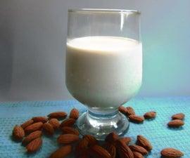 Homemade Delicious Almond Milk