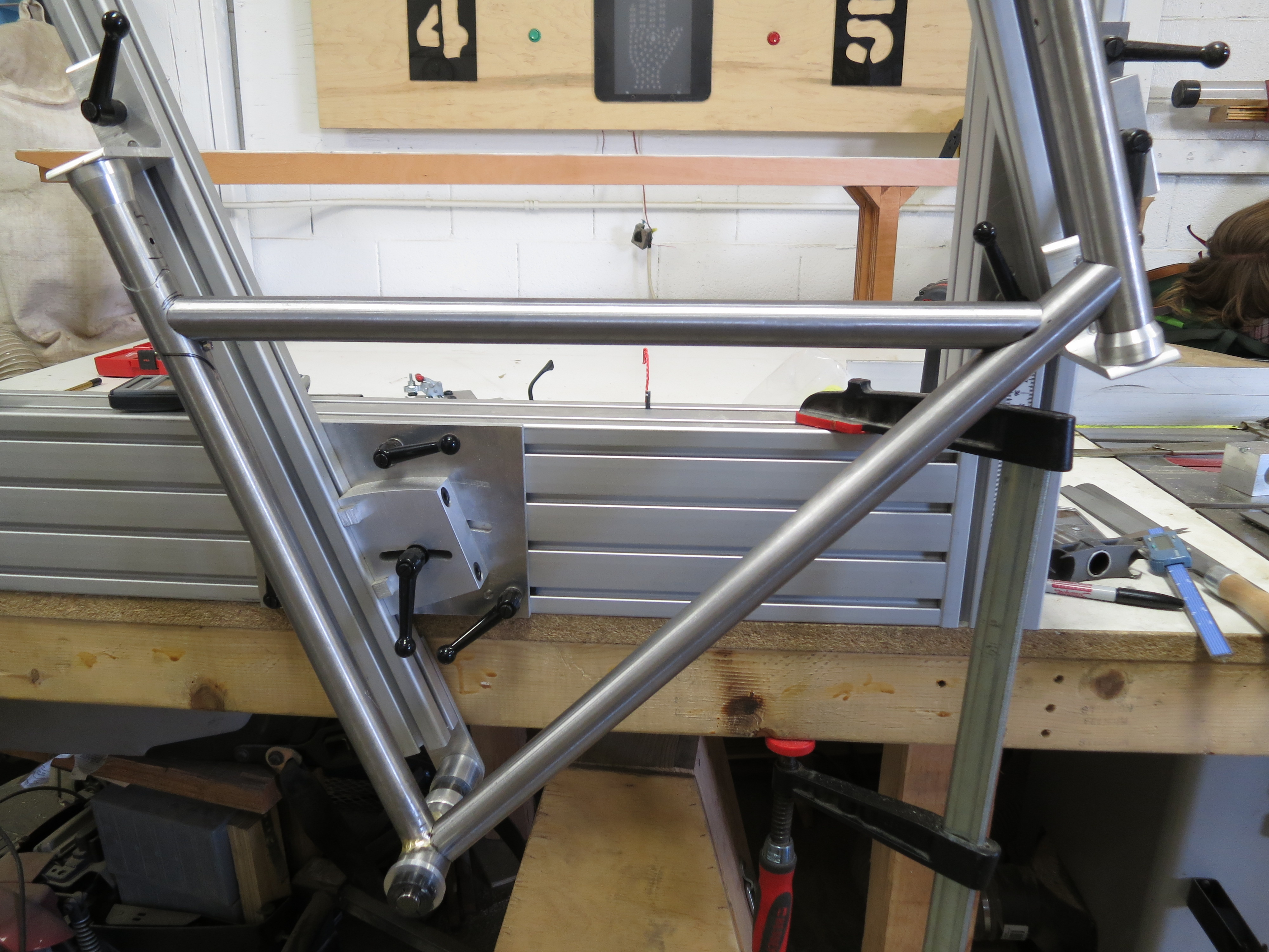 Picture of Weld/Braze the Front Triangle