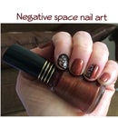 Negative Space Nail Art