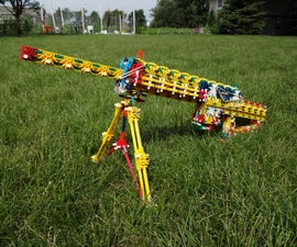 K'NEX RLSW V.1 (Red's Light Support Weapon) (Build)