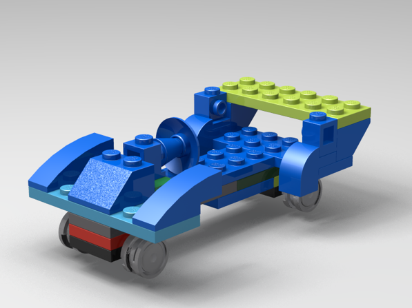 Picture of Lego Drag Race Car