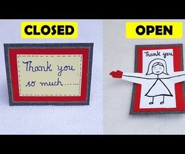 Thank You Card Ideas and Handmade for Thanksgiving for Teachers, Parents, Friends