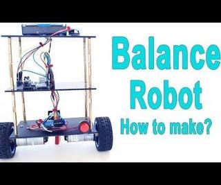 Arduino - Balance - Balancing Robot   How to Make?