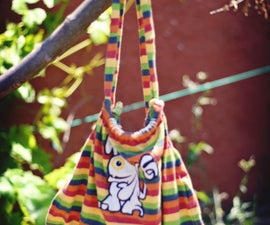How to Convert a Kid's T-Shirt into a Backpack