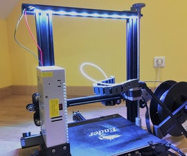 How to Easily Add Any Types of LEDs to Your 3d Printer