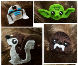 Hair Clips for Cool Kids