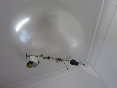 Sub Micro (Spy) Blimp Building With Hacked Servos