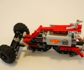 LEGO Fire Falcon with suspension (WIP)