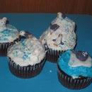 Polar adventure cupcakes