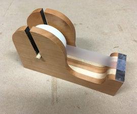 Wood Tape Dispenser