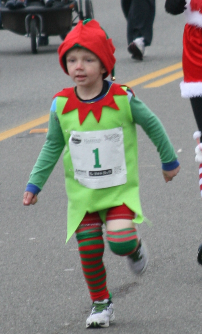 Picture of Simple to Make Elf Costume- Great for Jingle Bell Runs