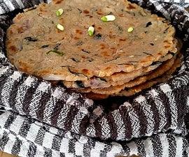 Akki Roti - Brown Rice Bread - Gluten Free Bread