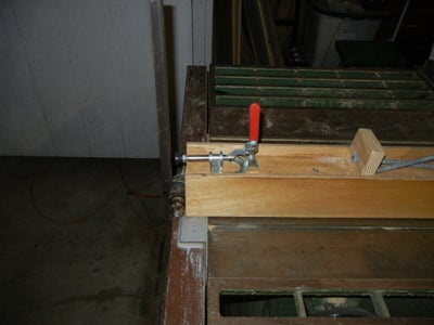 Organic Table Saw Fence / Work Bench