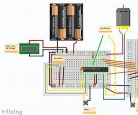 Self Sustained Automatic Watering System (Arduino, Bare Minimal Configuration)