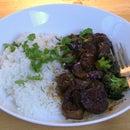 Sweet & Sour Eggplant in Tamarind Sauce Stir Fry - Vegan & Gluten-Free
